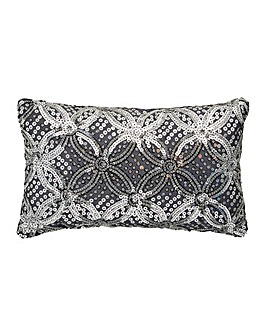 Jocasta Embellished Petite Cushion