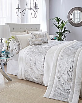 Krista Embellished Duvet Cover Set