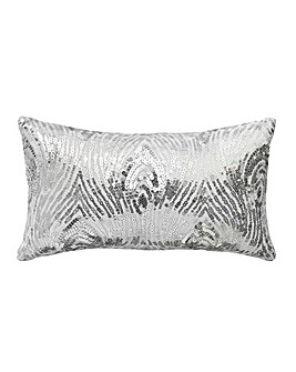 Krista Embellished Petite Filled Cushion