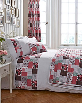 Cordelia Patchwork Duvet Cover Set