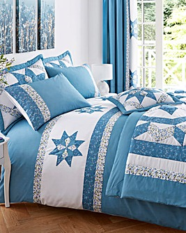 Brianne Puffball Duvet Cover Set