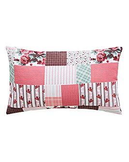 Cordelia Patchwork Boudoir Cushion