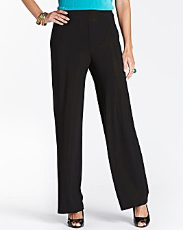 Pack of 2 Jersey Trousers Length 27in