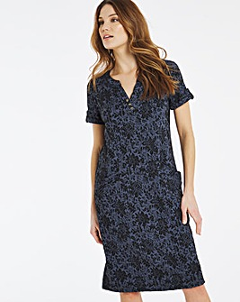 Julipa Jersey Jacquard Dress