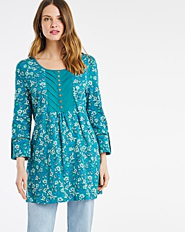 Julipa Pintuck Jersey Tunic