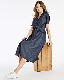 Julipa Lyocell Shirt Dress