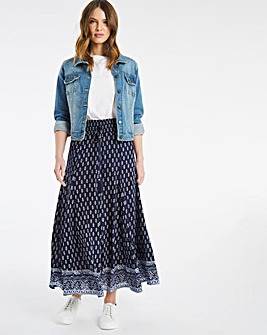 Julipa Crinkle Border Skirt