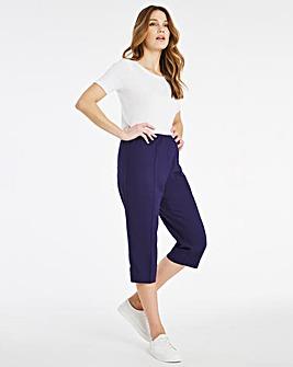 Julipa Linen Crop Trouser