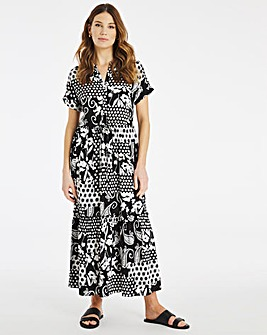 Julipa Tiered Print Dress