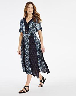Julipa Lace Trim Dress