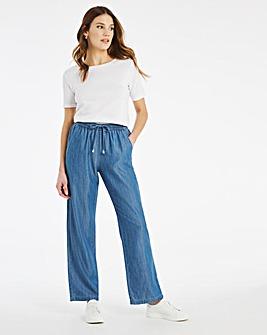 Julipa Soft Touch Lyocell Crop Trouser