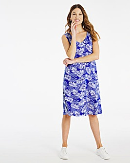 Julipa Printed Jersey Sun Dress