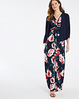 Julipa Maxi Dress with Shrug