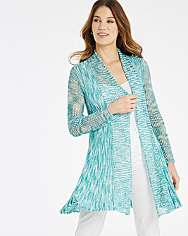 Julipa Space Dye Longline Cardigan