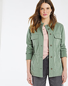 Julipa Cotton Utility Jacket