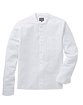Peter Werth Seersucker Grandad Shirt