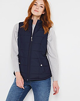 Julipa Gilet with Printed Lining