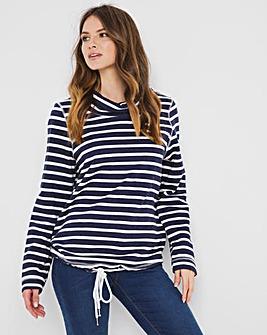 Julipa Leisure Cowl Neck Sweatshirt