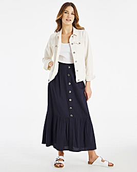 Julipa Linen Skirt 34in