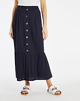 Julipa Linen Skirt 34in
