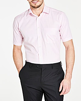 Double Two Pink Short Sleeve Shirt