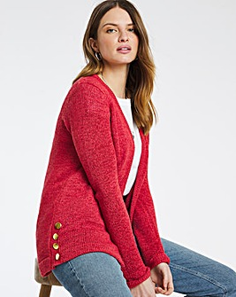 Julipa Tape Yarn Button Cardigan