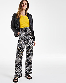 Julipa Print pull on Trouser