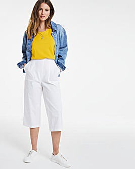 Julipa Cotton Crop Trousers