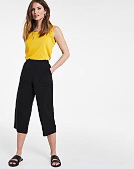 Julipa Cotton Crop Trousers
