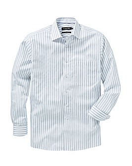 Double Two Stripe Long Sleeve Shirt