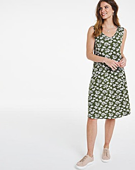 Julipa Print Jersey Sun Dress