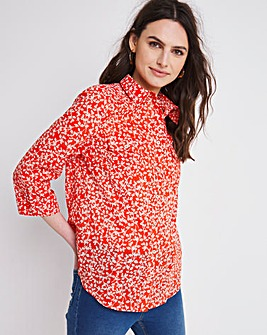 Julipa Leisure Pocket Cotton Shirt