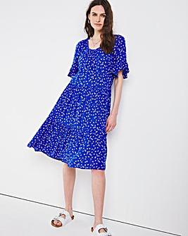 Julipa Print Crinkle Dress