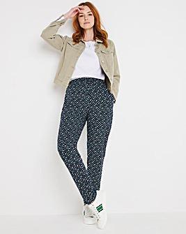 Julipa Viscose Print Trousers