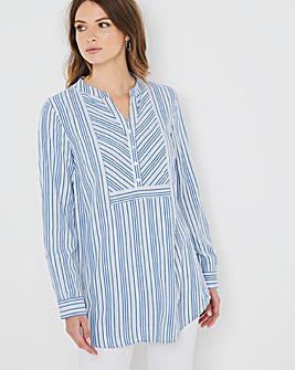 Julipa Multi Stripe Tunic Shirt