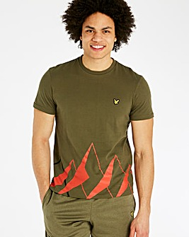 Lyle & Scott Fitness Graphic Training T-Shirt