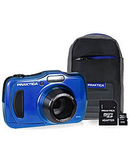 PRAKTICA WP240 Waterproof Camera Kit