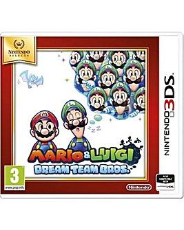 Mario and Luigi Dream Team Bros 3DS