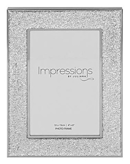 Impressione Frame with Glitter Band 4x6