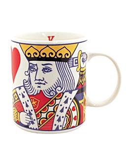 King of Hearts New Bone China Mug