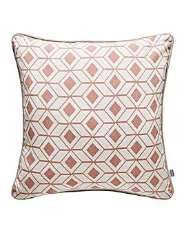 Hagen Geo Cushion Blush
