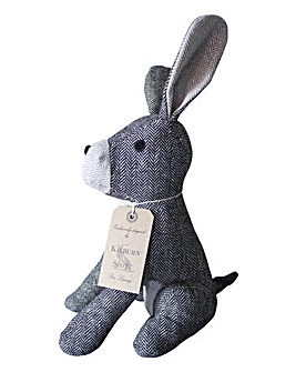 Harry Herringbone Rabbit Doorstop