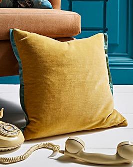 Joe Browns Velvet Border Cushion
