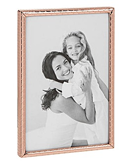 Dotty Rose Gold Narrow Frame 5x7