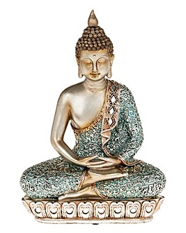Zen Blue Buddha Large