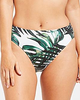 Fantasie Palm Valley Mid Rise Bikini Bottom