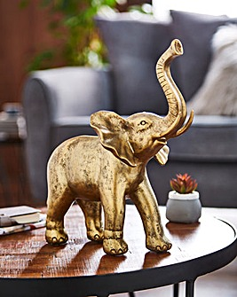 Large Gold Elephant