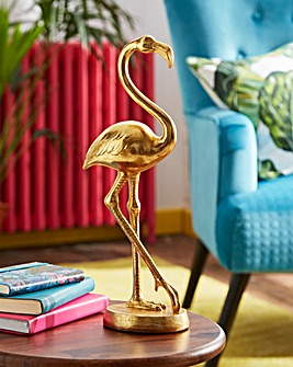 Gold Flamingo