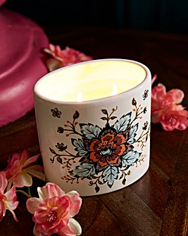 Joe Browns Floral Candle
