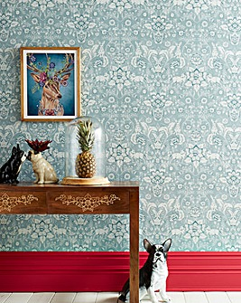 Joe Browns Animal Floral Wallpaper